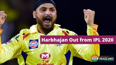 Harbhajan Out from IPL 2020: हरभजन