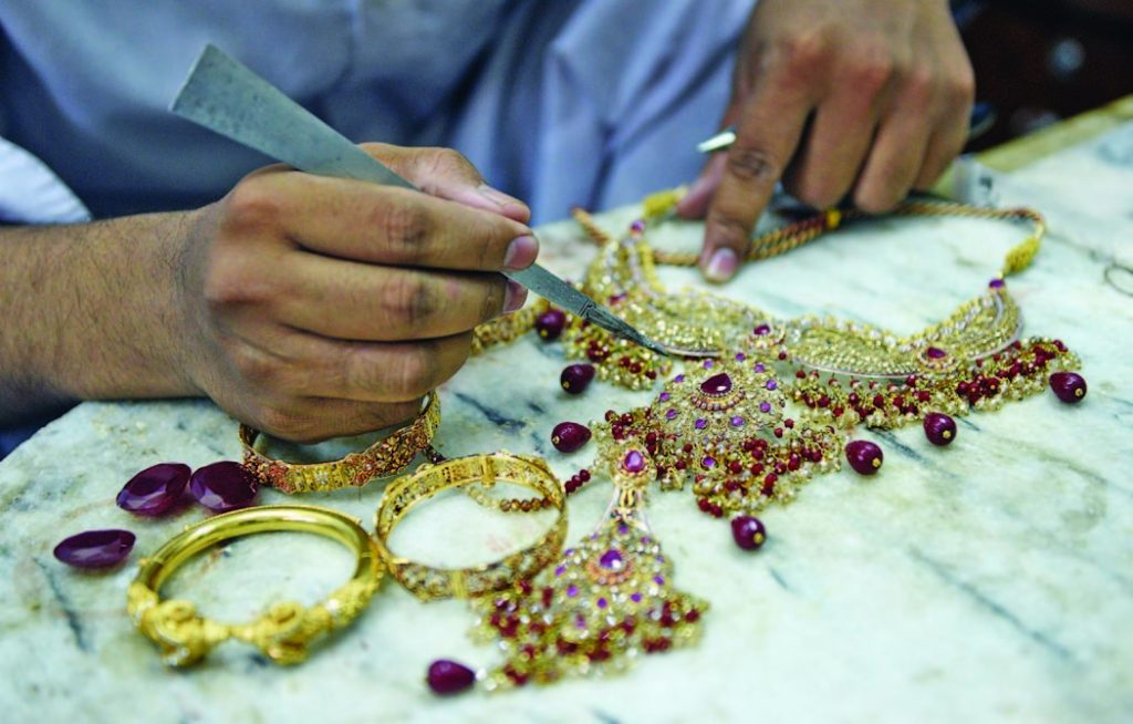 silver gold jewellery